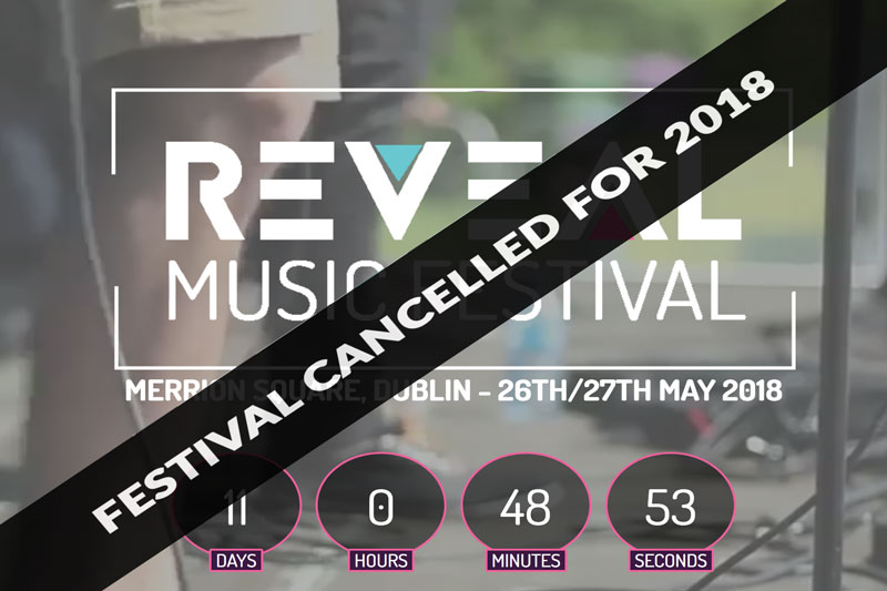 Reveal Festival Cancelled Message