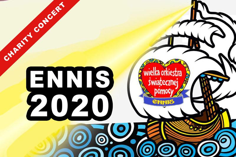 WOŚP WOSP Ennis 2020 - Koncert About My Fear
