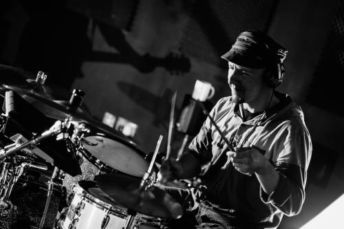 About My Fear - trip hop band Dublin Ireland - Photo Gallery. Robert Broll - Drummer